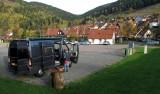 Op de camperplaats in Lautenthal (Harz)