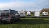Op de camperplaats in Goch (Duitsland)