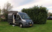 Op camping Berghemmerhof in Gulpen, Zuid-Limburg.