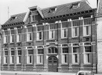 De verdwenen St.-Michaëlschool uit 1907, aan het A-plein 3-7 in Zwolle.