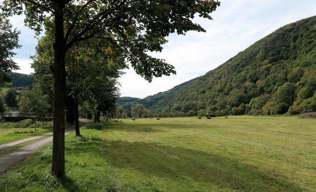 Mooi landschap, bij het verlaten van Ahrbrück.