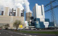 Eén van de vele bruinkool-gestookte elektriciteitscentrales van RWE.