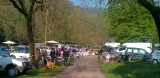 Zondag 5 mei: rommelmarkt op de camping in Baume-les-Messieurs.