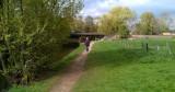 Een eindje wandelen langs de rivier in Goch (Duitsland)
