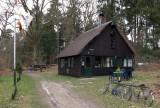 Blokhut van Scouting Nederland op Landgoed Eerde.