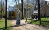 De ingang van de ambachtelijke brouwerij op het terrein van het Openlucht Museum.