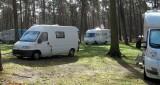 Op de camping bij Arnhem.