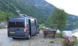 Overnachten aan het fjord