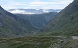 De bergen weer uit...