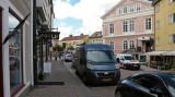 Geparkeerd in Vimmerby.