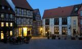 Avond in het middeleeuwse Quedlinburg...