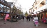 Winkelstraat in Goch (Duitsland)