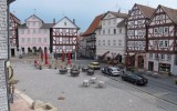 Marktplein in Homberg a/d Efze.