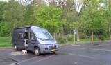 Camperplaats in Neukirchen.