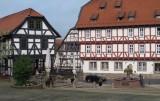 Marktplein in Wolfhagen.