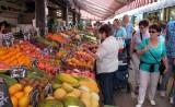 Op de Naschmarkt.