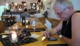 In de strausswirtschaft, een typische vorm van horeca bij/door wijnboeren.