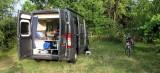 Camperplaats bij de wijnboer.