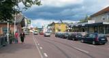 De hoofdstraat van Alvdalen.