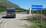 De Noors-Zweedse grens.