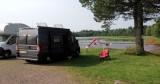 Camping in Oje ten zuiden van Mora.