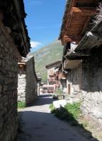 Doorkijkje in het oude dorpje Bonneval.