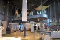 De hal van het museum.
