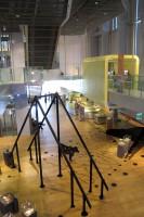 Een blik van boven op het museum.