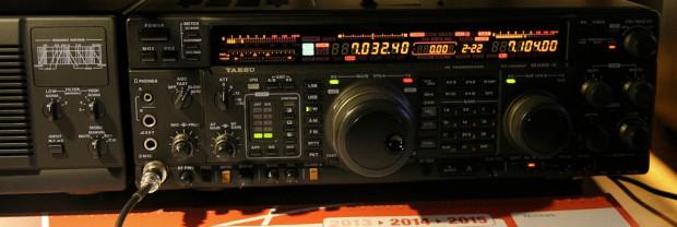 """Mijn """"nieuwe"""" FT1000MP Mark V."""