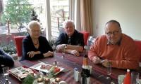 Tweede kerstdag in Enschede, moeder, Wim en Aloys.