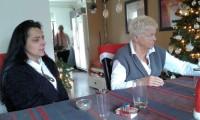 Tweede kerstdag in Enschede, Geertje en Dicky.