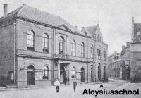 De St. Aloyssiusschool in de Koestraat in Zwolle.