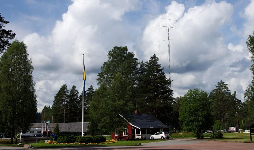 De radiohut SJ9WL / LG5LG in Morokulien.