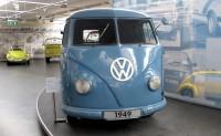 Het protype van de T1 uit 1949. Naar een idee van Ben Pon, de Nederlandse importeur van Volkswagen.