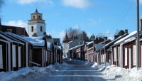 Het Sami-kerkdorpje van Lulea: Unesco Wereld Erfgoed.