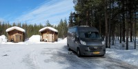 Op de Nederlandse camping in Jokkmokk.