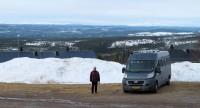 Idrefjäll, de berg met tientallen pistes, evenzoveel liften en honderden vakantiewoningen...