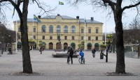 Stora Torget, een van de grootste pleinen in Zweden.