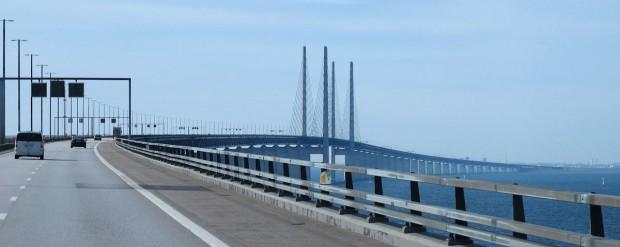 De brug over de Öresund die Zweden en Denemarken met elkaar verbindt. Dé brug.