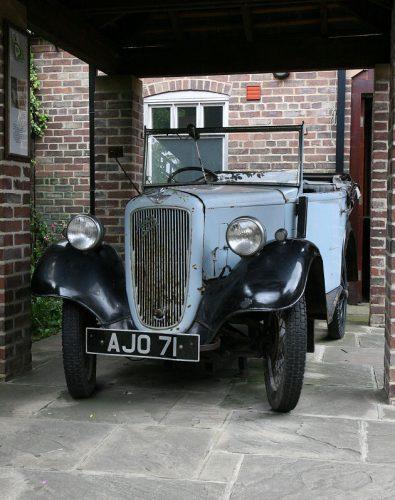 De auto, gebruikt in de televisieserie!