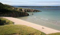 In het algemeen zijn de stranden hier iets minder druk dan aan de Cote d'Azur...