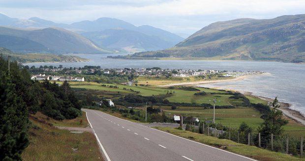 De beroemde Schotse westkust.