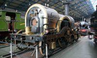 In het National Railway Museum. De moeite waard!