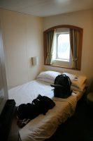 De luxe 2-persoons hut met badkamer, waterkoker met koffie en thee, gevulde koelkast, TV en strijkmachine...