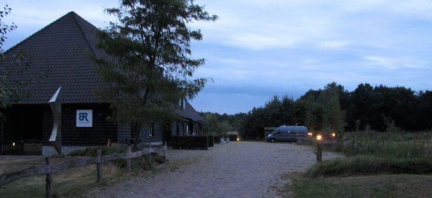 Landgoed Blauwrijk bij avond...