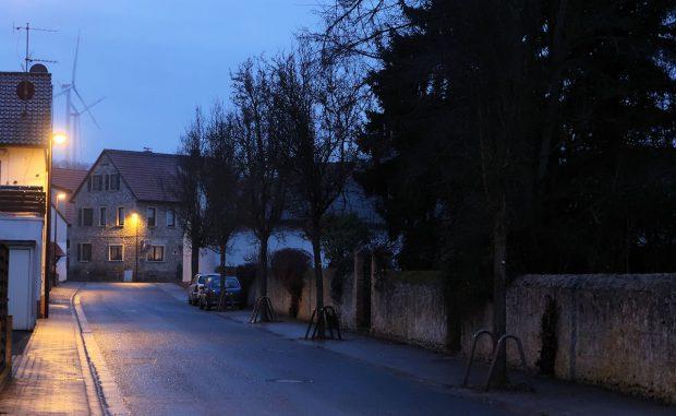 Een korte wandeling door het dorp.