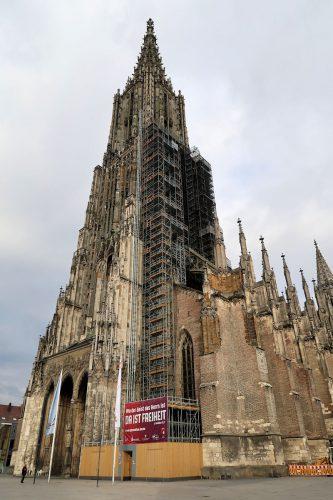 De Ulmer Münster, de hoogste kerk ter wereld.
