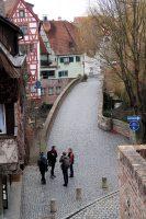 In de oude binnenstad.