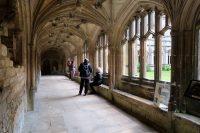 De oude kloostergangen.