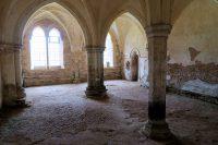 De sacristie, na eeuwen van leegstand...